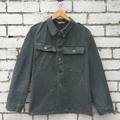 1960s VTG Thick Denim Chore Jackets - Grey Green Blue Stonewash S M L XL