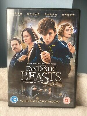 Fantastic Beasts And Where To Find Them DVD. Free delivery.