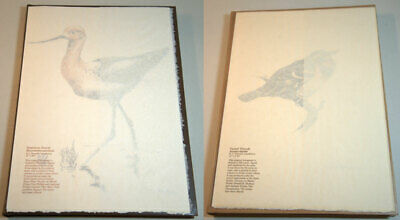 Landsdowne Birds of the West Coast 2 Vols Deluxe Ed. with 2 Original Lithographs