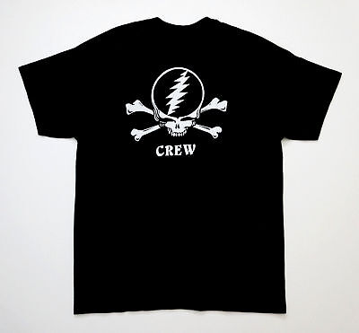 Grateful Dead Shirt T Shirt Road Crew Fare Thee Well Soldier Field Chicago 2015