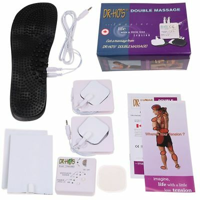 New DR HO'S Dual Double Muscle Massage Therapy System Pain Relieve Stimulator US