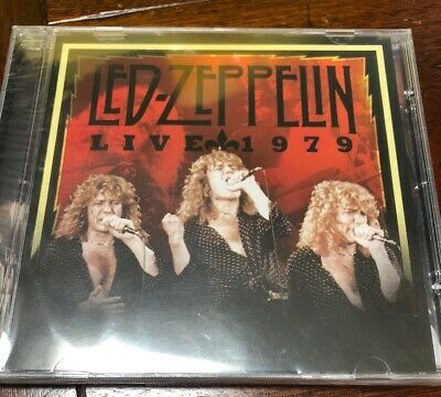 LED ZEPPELIN - 3 CD Live Seattle Center Coliseum Rare Made In Italy Purple