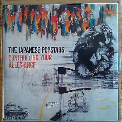 The Japanese Popstars - Controlling Your Allegiance Promo Album (CD) Collectable
