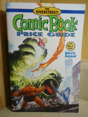 Overstreet Comic Book Price Guide Spiral Bound 1st Print May 2001