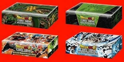 2019 Dragon Ball Super Special Anniversary 4-Set Factory Sealed Case!