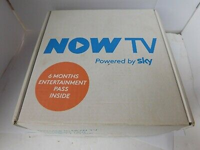 NOW TV 2400SK Box with Controller Powered by SKY - White boxed with charger free