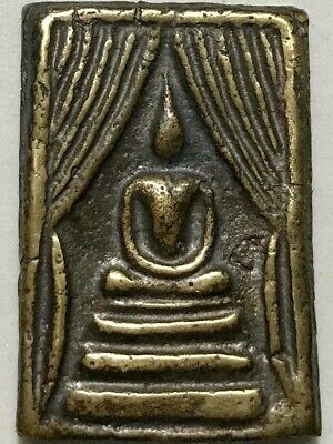 PHRA SOMDEJ PROKPO LP KUAY RARE OLD THAI BUDDHA AMULET PENDANT MAGIC ANCIENT#2