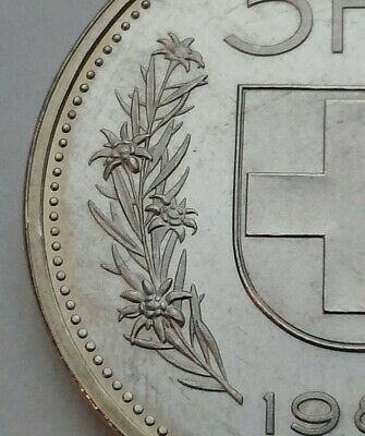 Switzerland 5 Francs 1984. KM#40a.2. William Tell. Looks like proof.
