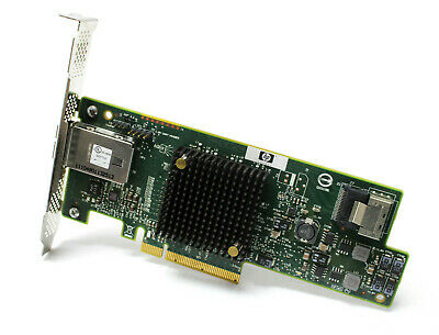 HP SAS9217-4i4e PCI-e x8 6GB SAS Ports Host Bus Adapter High Profile 792099-001