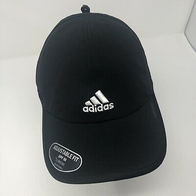 330b6f89875 Adidas Men s Adizero II Adjustable Fit Cap Climacool Breathable Black Hat  New