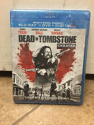 Dead in Tombstone Unrated (Blu-ray/DVD, 2013, 2-Disc Set)