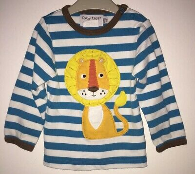 Boys Age 6-12 Months - Toby Tiger Top
