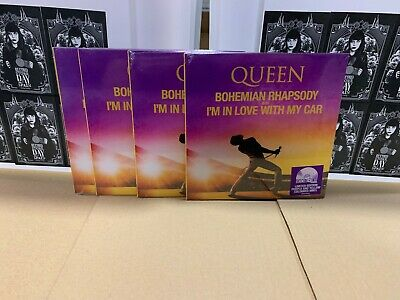 """Queen 7"""" Bohemian Rhapsody / I'm In Love With My Car  Rsd 2019 Sealed"""