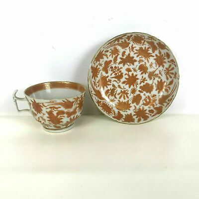 Rare Chinese 19th / 18th Century Iron Red Tea Cups and Saucers #12