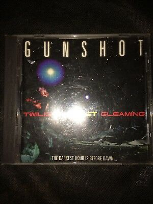 Gunshot - Twilights Last Gleaming - CD Album - Collectable and very rare