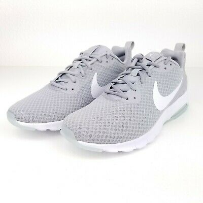 competitive price d6590 90384 Nike Air Max Motion LW Mens Shoes WHITE GRAY 833260 011 Size