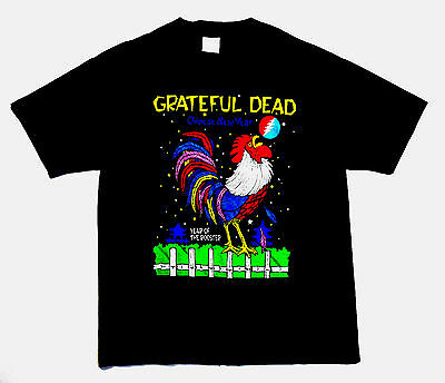 Grateful Dead Shirt T Shirt Vintage 1993 Chinese New Year of Rooster GDM XL New