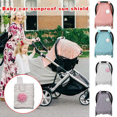 246A 4 Colors Baby Stroller Canopy Car Seat Nursing Cover Sunshade Seats
