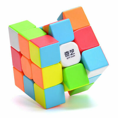 QiYi Warrior W 3x3x3 Magic Cube Stickerless Smooth Twist Speed Cube Puzzle Toys