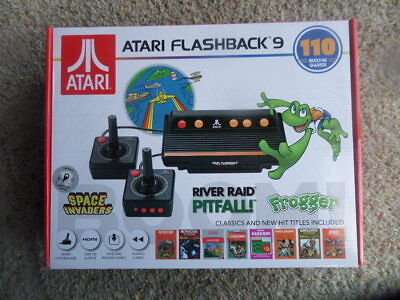 Atari Flashback 9 HD Classic Game Console 110 Built-in Games HDMI 720p New n Box