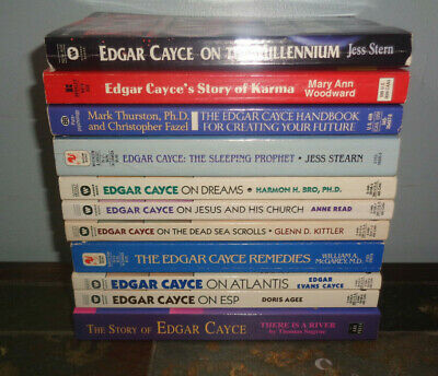 LOT 2 EDGAR Cayce books On Dreams + Health Anthology - $10 49 | PicClick