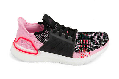 cfb395ebd Adidas Originals Women s Ultraboost 19 Core Black Orchid Tint Action Red  G26129