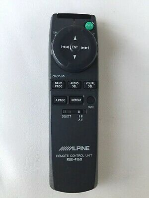 ALPINE RUE-4160  1999 Bentley Arnage FACTORY REMOTE CONTROL FACTORY ALPINE OEM