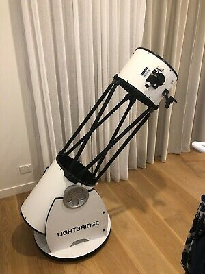 "MEADE INSTRUMENTS - 12"" LightBridge Truss-Tube Dobsonian Telescope"