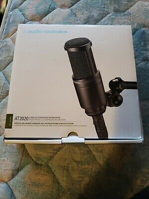 Audio Tech AT2020 Condenser Wired Professional Microphone