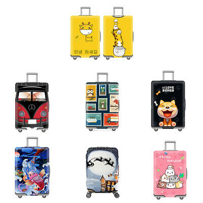"Travel Luggage Cover Dustproof Suitcase Protective Cover Fit for 19-32"" Luggages"