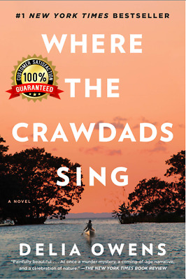 Where the Crawdads Sing by Delia Owens 2018 EB00K PDF 🔥⭐🔥(Free Shipping)🔥⭐🔥