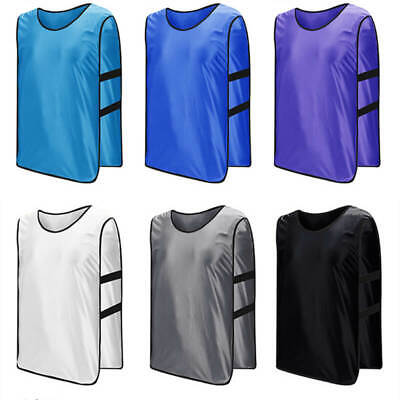 883834a8e TEEN YOUTH ADULTS Scrimmage Practice Jerseys Team Pinnies Sports Vest Soccer  NEW