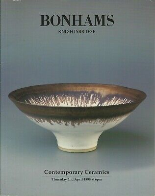 Bonham's, Knightsbridge, Contemporary Ceramics, 2nd April 1998