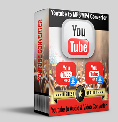 YOUTUBE TO MP3/MP4 Converter| Video Downloader and Converter