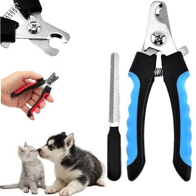 Pet Clippers Dog Cat Professional Stainless Steel Nail Toe Trimmer Grooming Tool