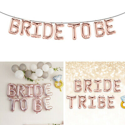 10x Wedding Bachelorette Photo Booth Props Rose Gold Bride Hen Party Supplies