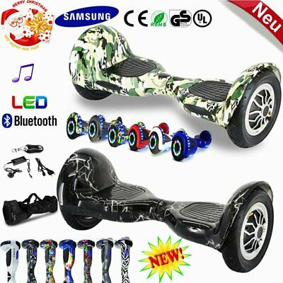 New Samsung-Akku 10ZOLL Hoverboard Balance E-Scooter ULtraboard Bluetooth LED DE