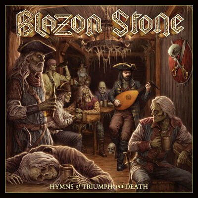 BLAZON STONE - Hymns of Triumph and Death (NEW*LIM. CD EDITION*RUNNING WILD)