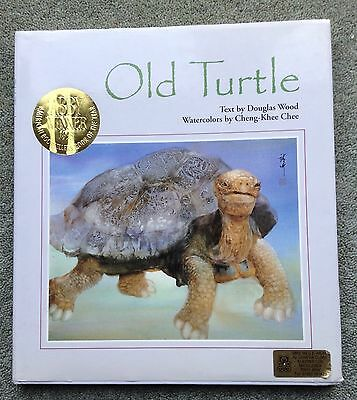 Old Turtle By Charles Wood. ABBY Book Of The Year 1993. Very Good Condition.
