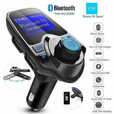 Bluetooth FM Transmitter KFZ Auto Radio Adapter freisprecheinrichtung Car Kit