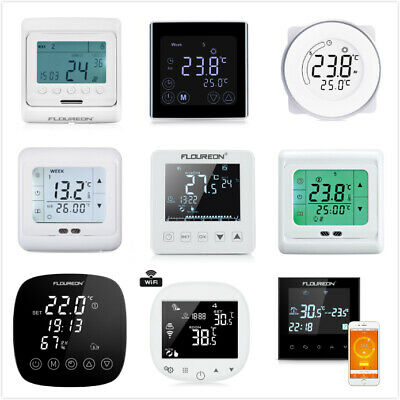 Digital Programmable Heating Thermostat Temperature Controller Touch Screen