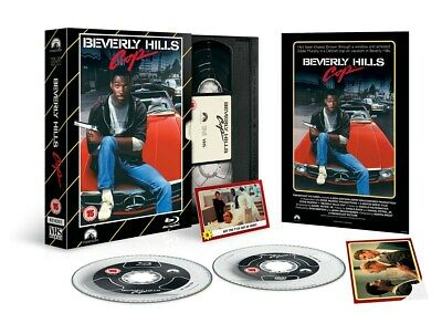 Beverly Hills Cop (Limited Edition VHS Collection) [Blu-ray]