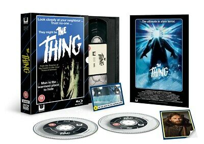 The Thing (Limited Edition VHS Collection) [Blu-ray]
