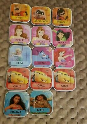 WOOLWORTHS DISNEY WORDS FIRST RELEASE14 DIFFERENT TILES Rare price is for 1tile