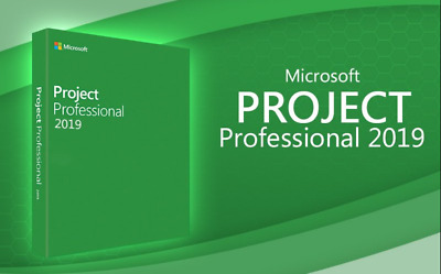 MICROSOFT Project Pro 2019 DVD Français,English,Deutsch,Italiano Version Complet