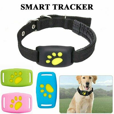 Waterproof GPS Tracker Pet Collar Real Time Locator Kid For Dog Tracking Device