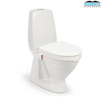 My-Loo Toilet Seat Raiser With Lid High