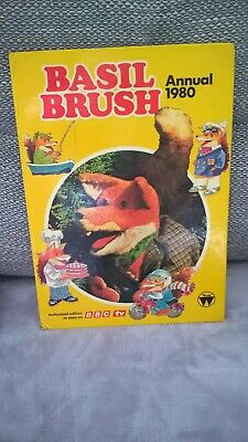 1980 Basil Brush Annual unclipped