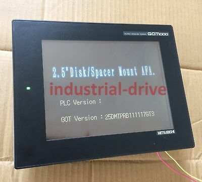 1PC Used Mitsubishi touch screen GT1265-VNBA in good condition free shipping