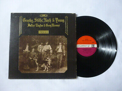 Crosby Stills Nash & Young ~ Deja Vu ~ 1970 Uk 1St Press Folk Rock Vinyl Lp